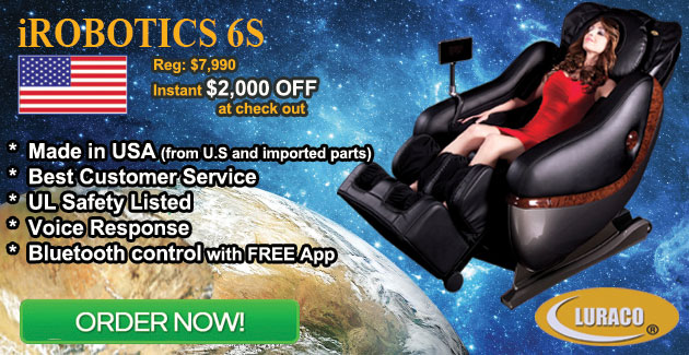 Luraco iRobotics 6S Massage Chair Coupon