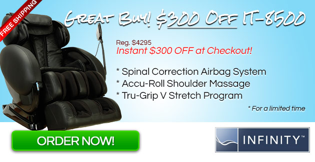 IT-8500 Massage Chair Coupon