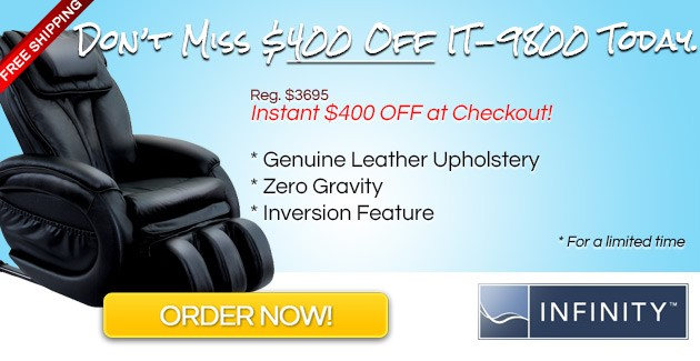 IT-9800 Massage Chair Coupon