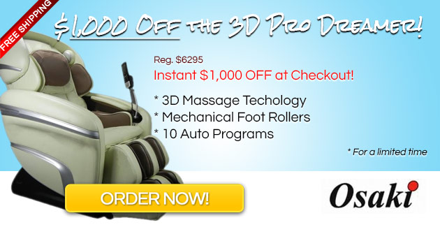 OS 3D Pro Chair Coupon